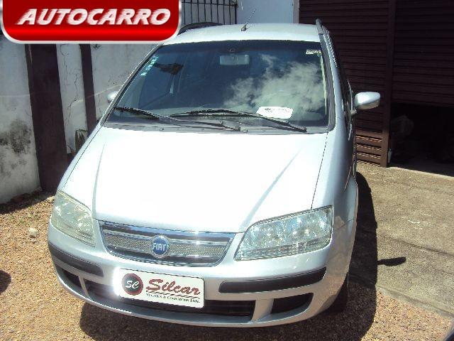 Fiat idea 1 4 mpi elx 8v prata 2007 581640 carros for Ficha tecnica fiat idea elx 1 4